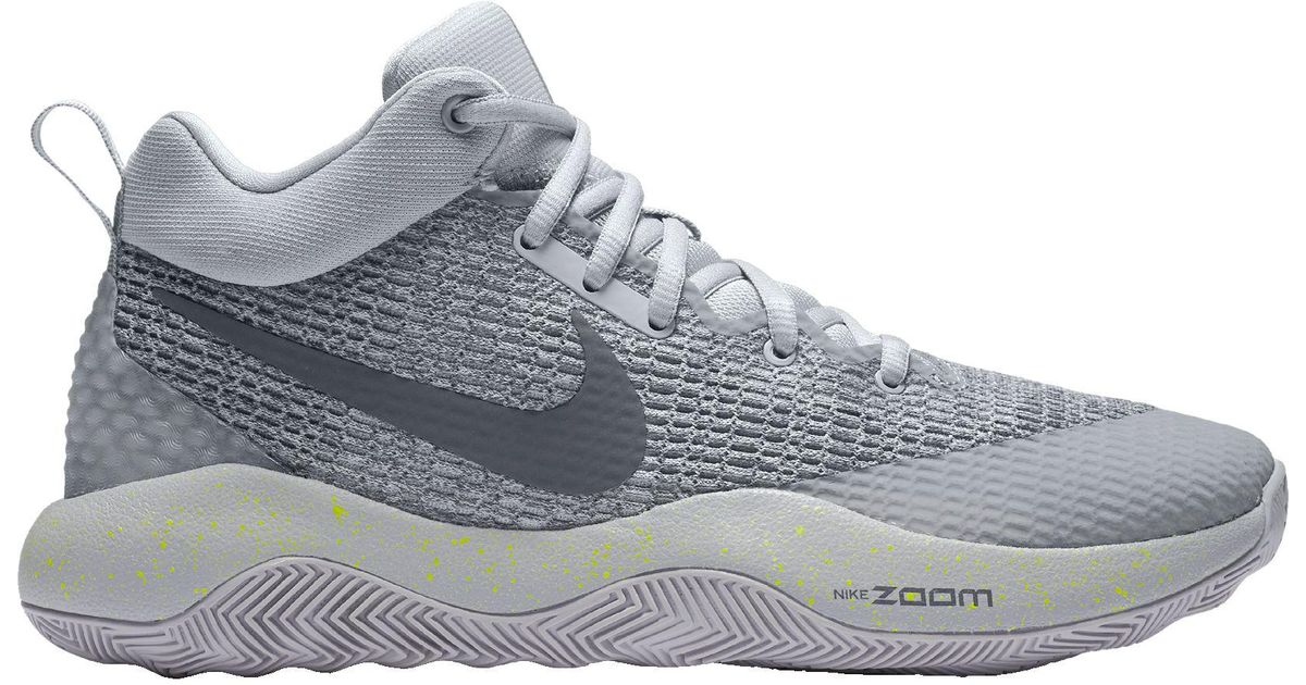 c67f9e2927c6 Lyst - Nike Zoom Rev 2017 Basketball Shoes in Gray for Men
