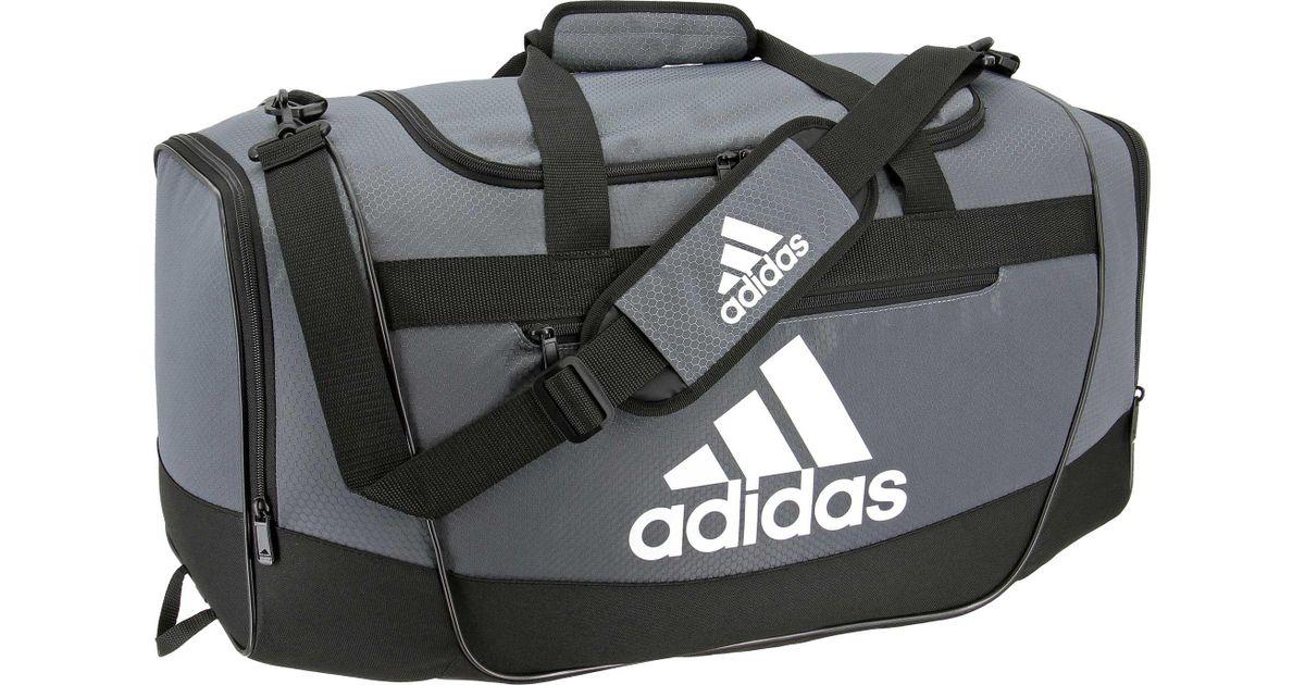 d155bd4b8 Lyst - adidas Defender Iii Medium Duffle Bag in Black for Men
