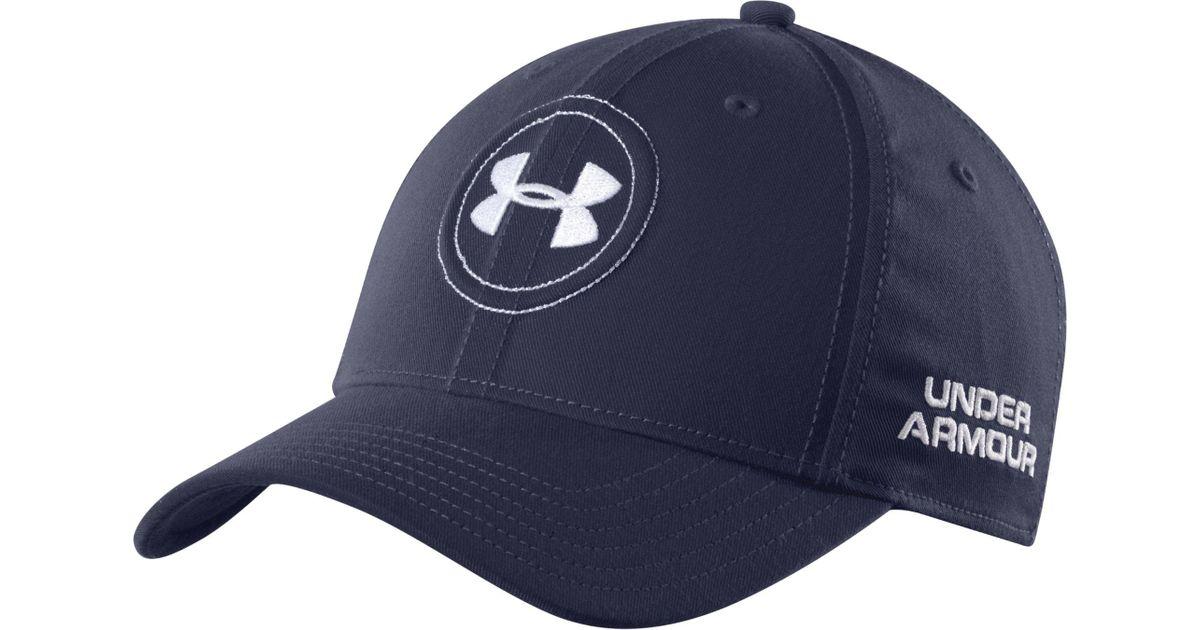 0fcc9b239339 Lyst - Under Armour Jordan Spieth Official Tour Golf Hat in Blue for Men