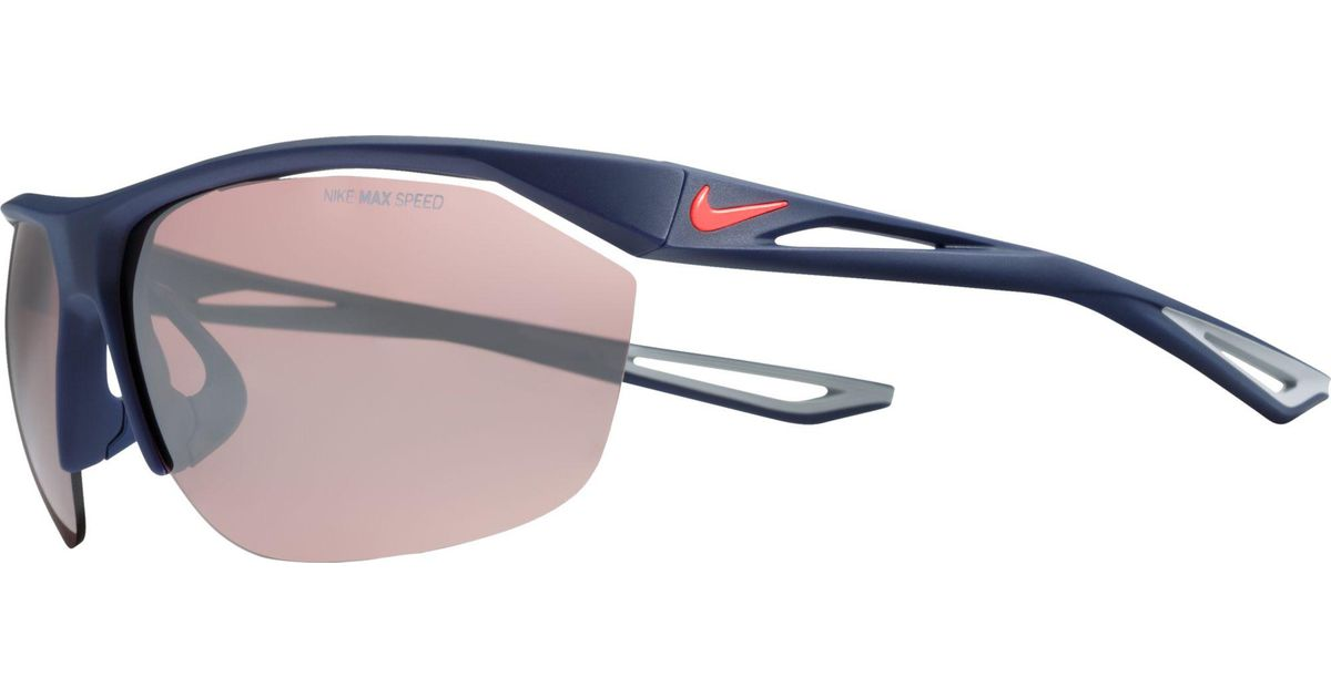 f0f71b59243 Lyst - Nike Tailwind Sunglasses in Blue