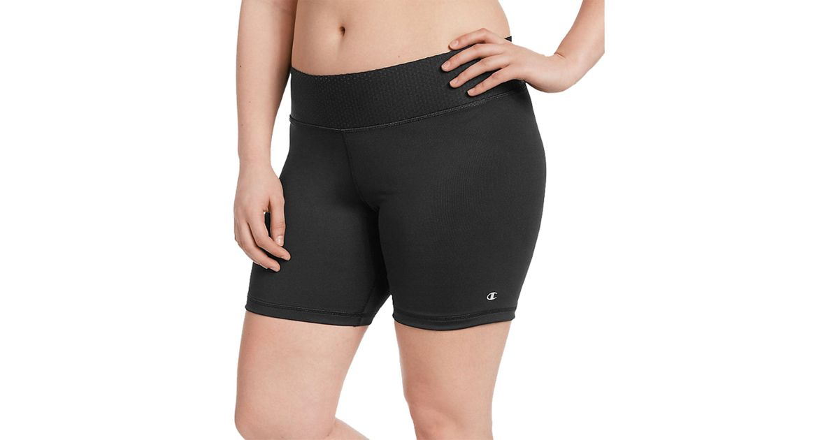 8d4e2afbb720 Lyst - Champion Plus Size Absolute Shorts in Black