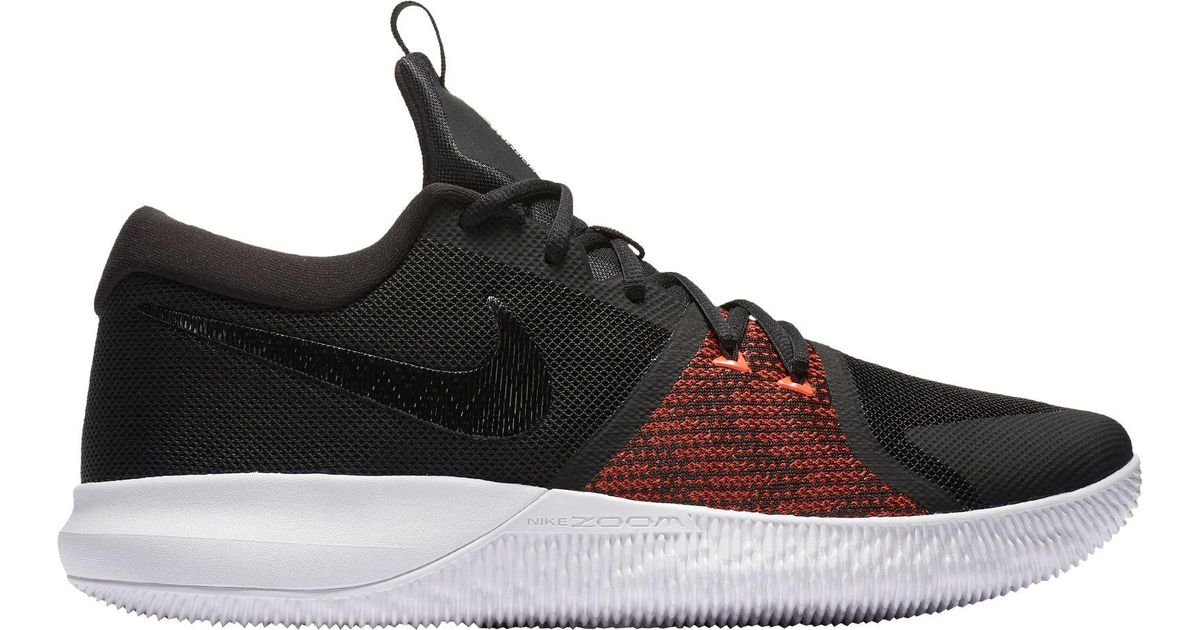 67254add44239 Lyst - Nike Zoom Assersion Basketball Shoes in Black for Men
