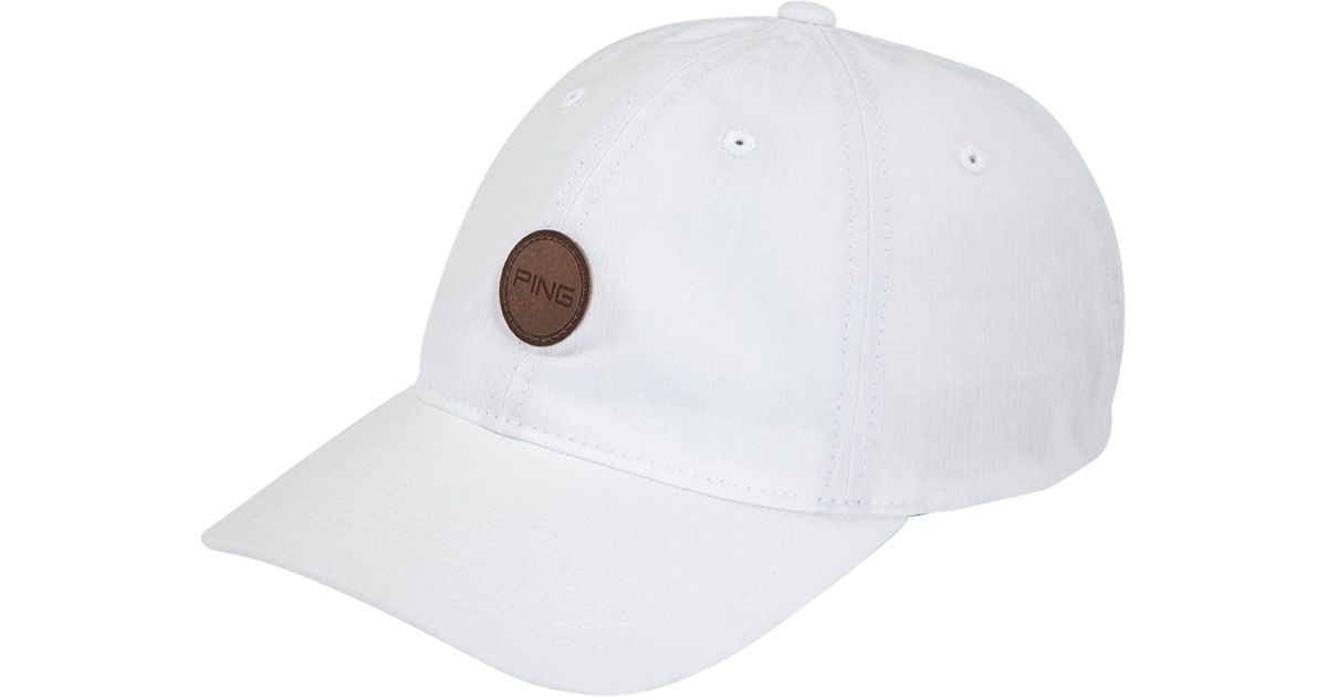 Lyst - Ping Fairway Golf Hat in White for Men a5170d7feb7