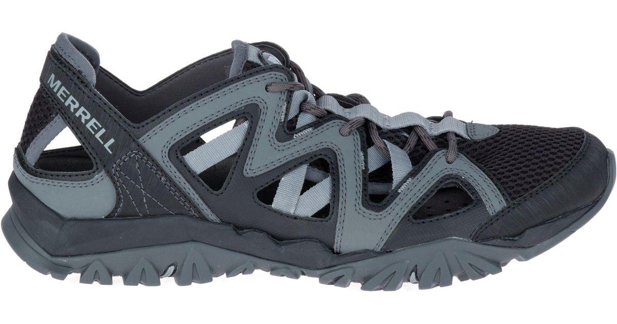 597da9a45215 Lyst - Merrell Tetrex Crest Wrap Water Shoe in Black for Men