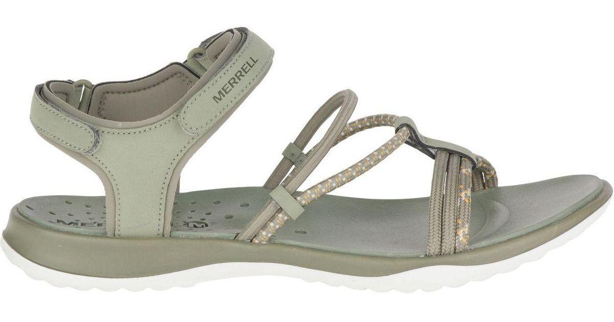 d79e4abf0e Lyst - Merrell Sunstone Strap Sandals