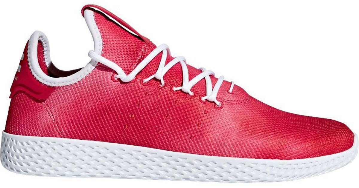 7aa1e36bbca5e Lyst - adidas Originals Pharrell Williams Tennis Hu Holi Shoes in Red for  Men