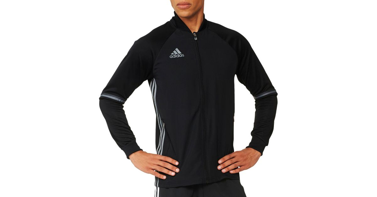 b7cdbc537024 Lyst - adidas Condivo 16 Soccer Training Jacket in Black for Men
