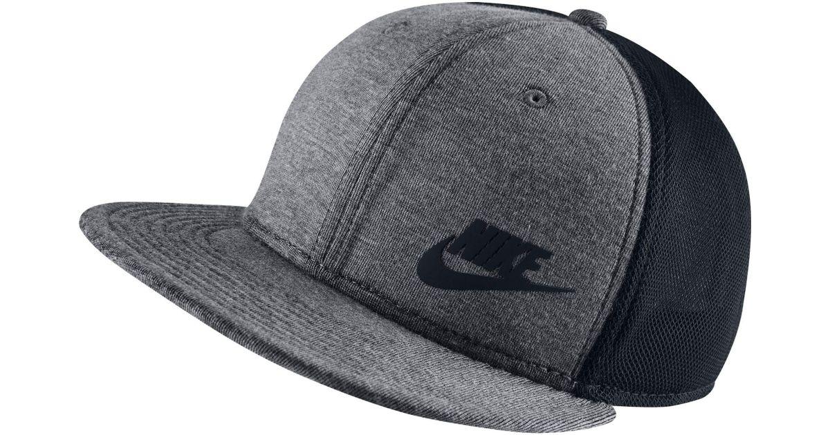 Lyst - Nike True Tech Pack Adjustable Snapback Hat for Men f43d495f9f62