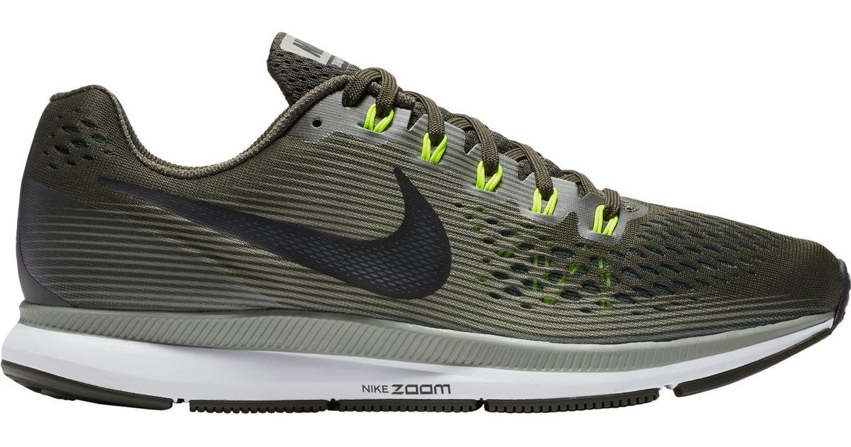 5785746f9e98 Lyst - Nike  s Air Zoom Pegasus 34 Running Shoes White blue in Green for Men