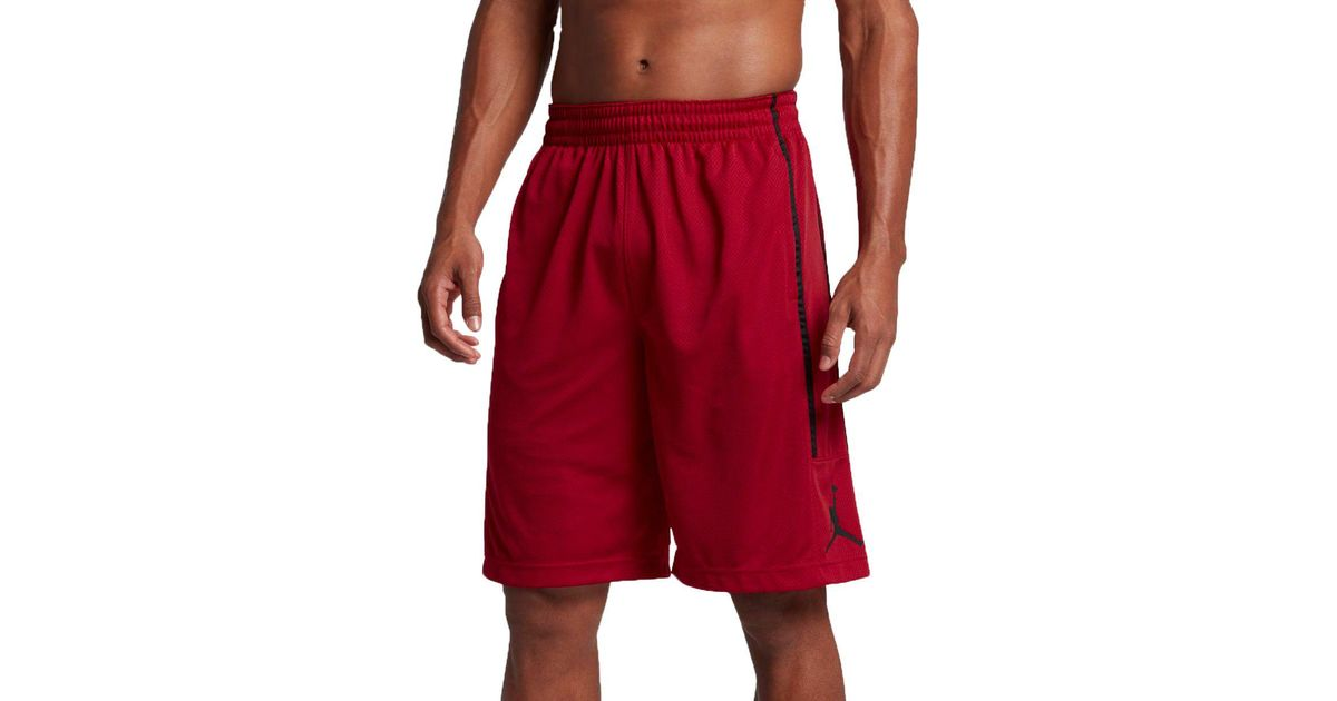 b0c2874c07b54b Lyst - Nike Jordan Double Crossover Basketball Shorts in Red for Men