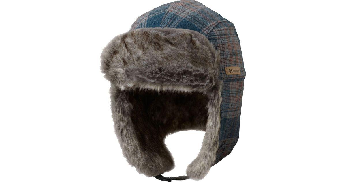 Lyst - Columbia Noble Falls Ii Trapper Hat in Gray for Men 4e6ac3ec5bd