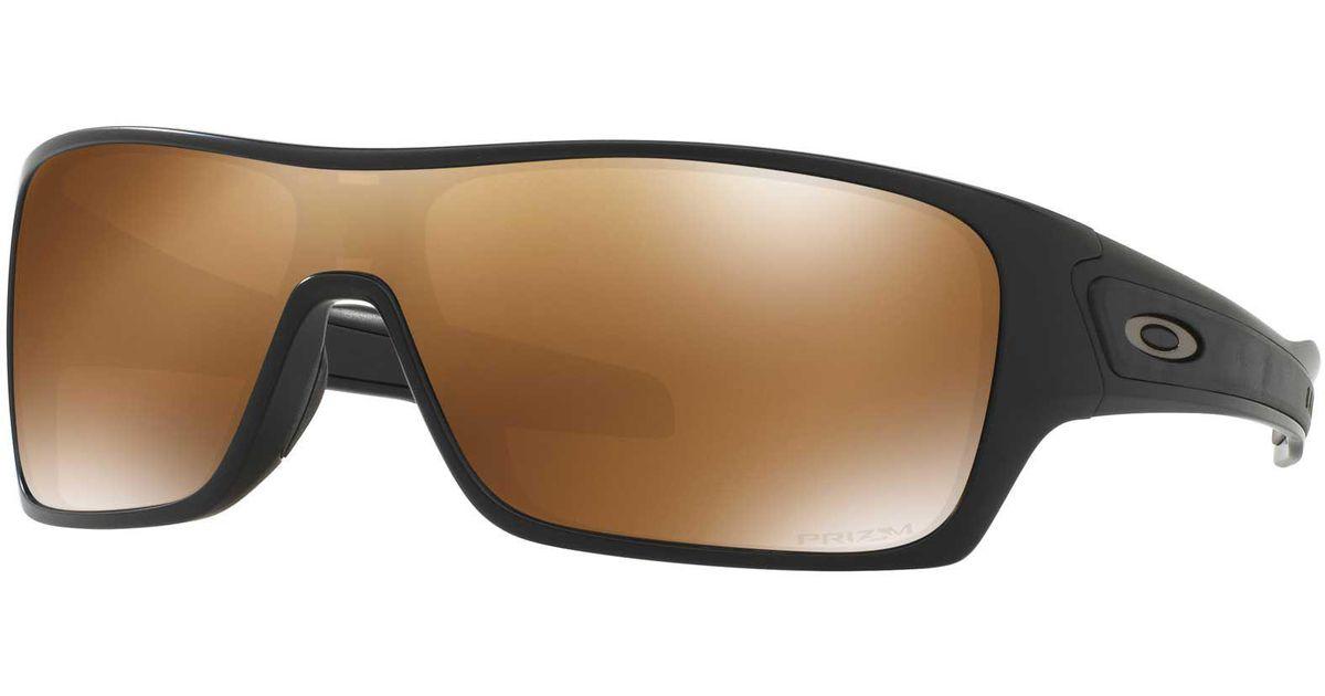 a6a55e6908b Lyst - Oakley Turbine Rotor Polarized Sunglasses for Men
