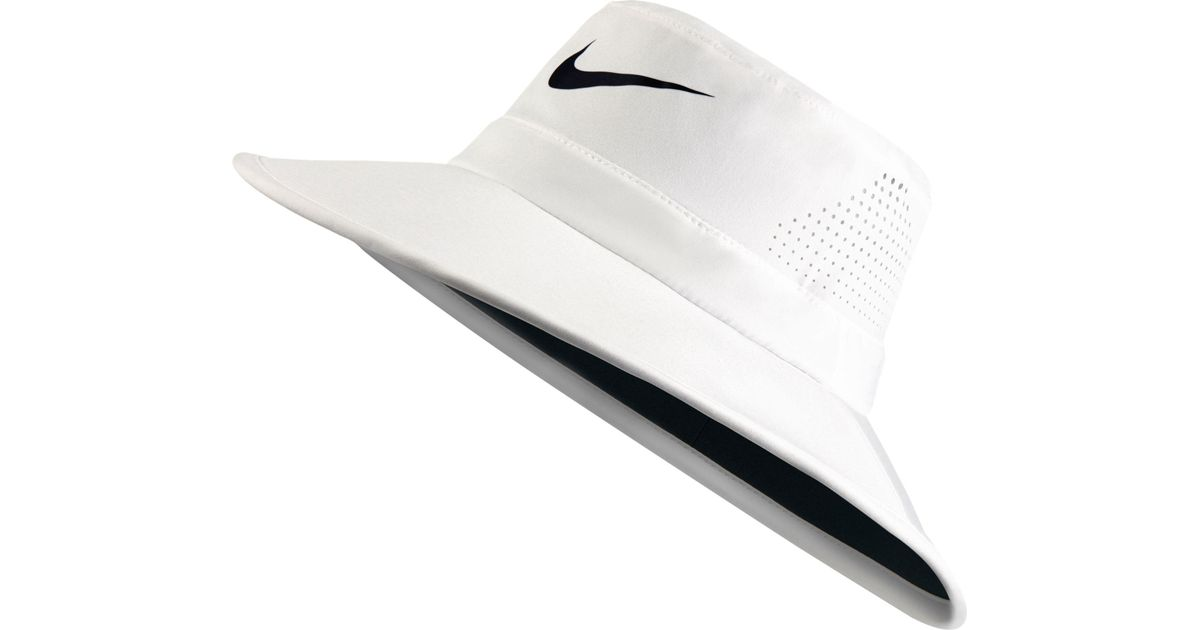 ... check out 9e6b8 08b20 Lyst - Nike Sun Protect 2.0 Golf Hat in White for  Men ... 7b8208d7c69