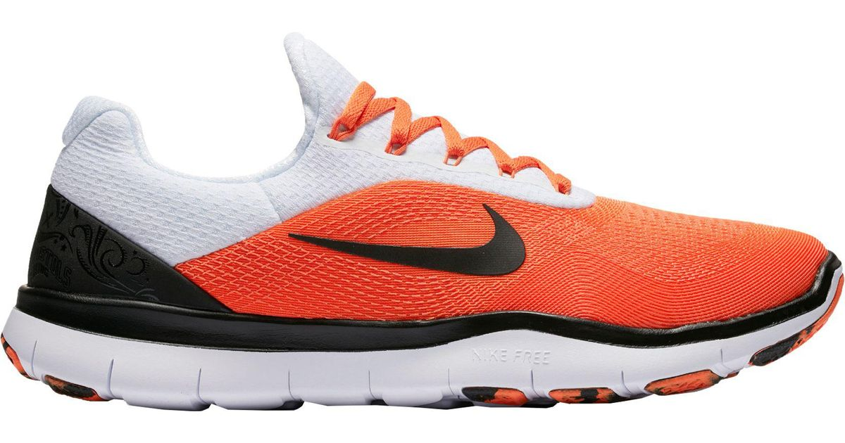 66691283da38 ... get lyst nike free trainer v7 week zero oklahoma state edition training  shoes for men 3940d