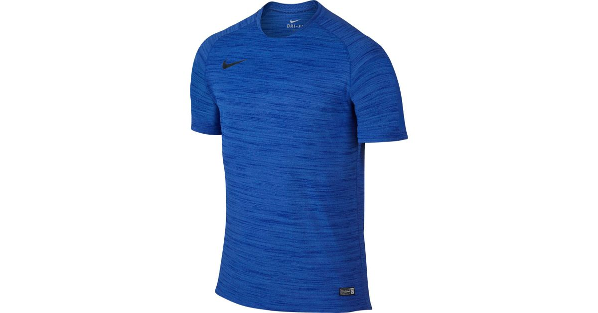 68be83d32 Lyst Nike Flash Dri Fit Cool Soccer T Shirt In Blue For Men