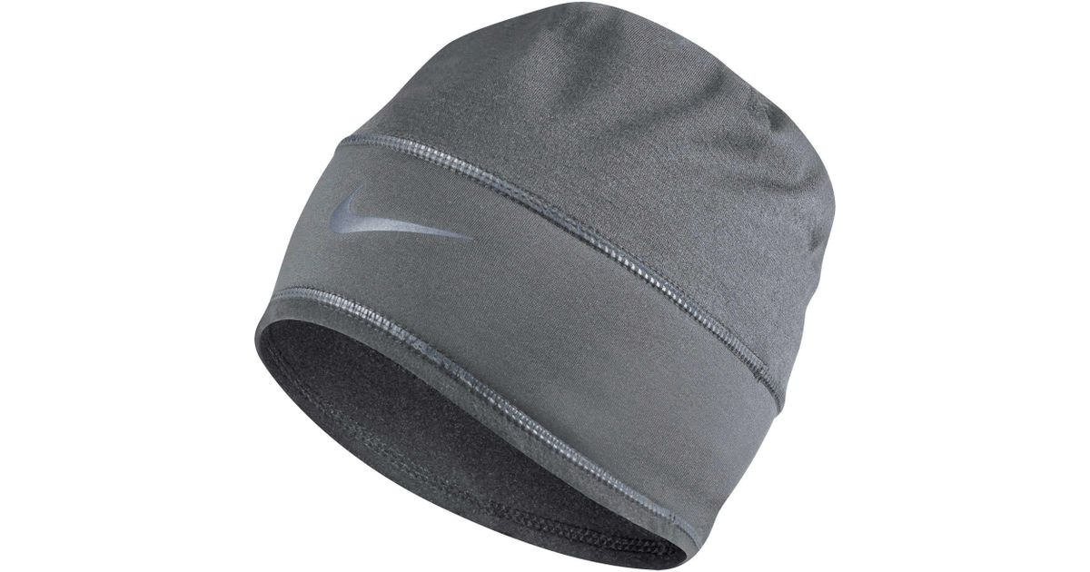 7a297cf80fc ... official store lyst nike dry knit running hat in gray for men c2cc0  328a7