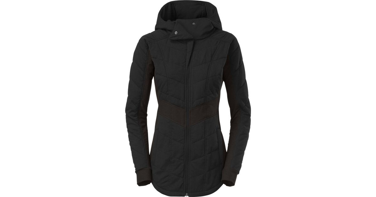 ... france lyst the north face pseudio jacket in black fd7f6 87c9f c10e6d08f