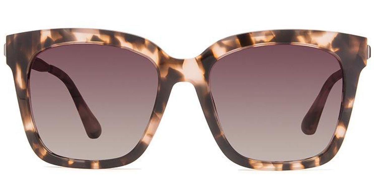 a22ca8f18aeea DIFF Bella - Himalayan Tortoise + Rose Gradient + Polarized - Lyst