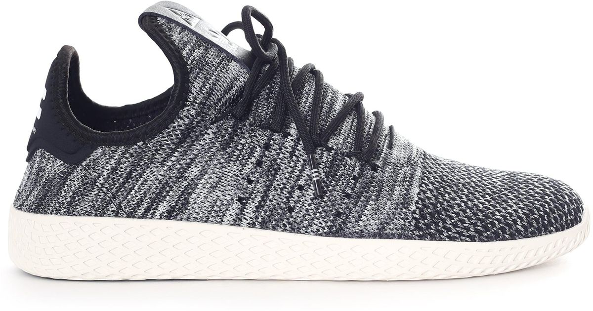 6918d0af4 Adidas Men s Pw Tennis Hu Pk Trainers Chalk White core Black running White  in Black for Men - Lyst
