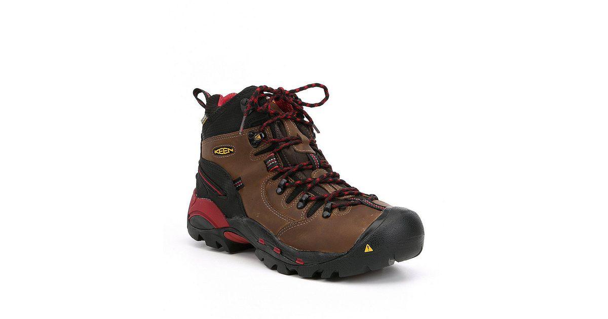 e5f3fab38b2 Keen - Multicolor Men's Utility Pittsburgh Waterproof Steel Toe Work Boots  for Men - Lyst
