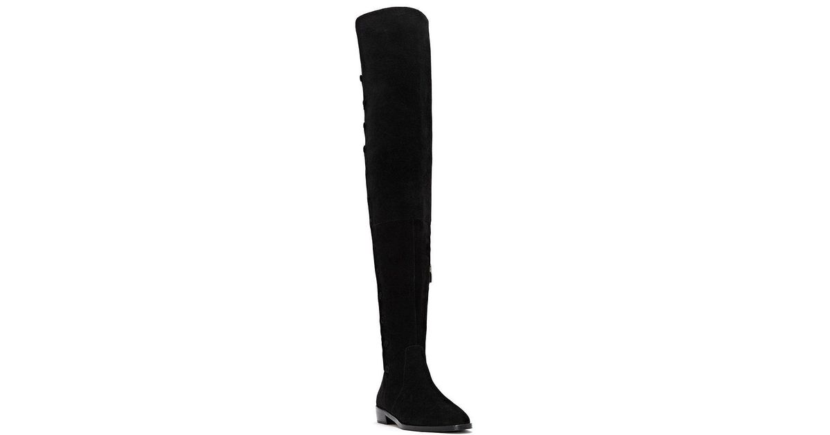 d494b7a8e03 Lyst - Vince Camuto Coatia Over The Knee Boots in Black