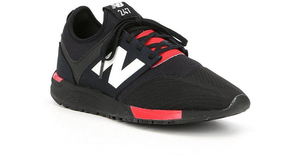 Lyst - New Balance Men s 247 Lifestyle Sneakers in Black for Men 6956498d7