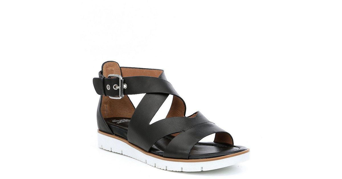 Mirabelle Leather Criss Cross Sandals