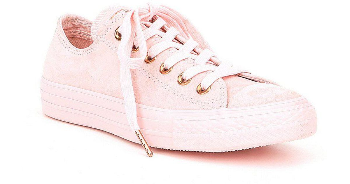 f71f3c7fef68 Lyst - Converse Women s Chuck Taylor All Star Blossom Sneakers