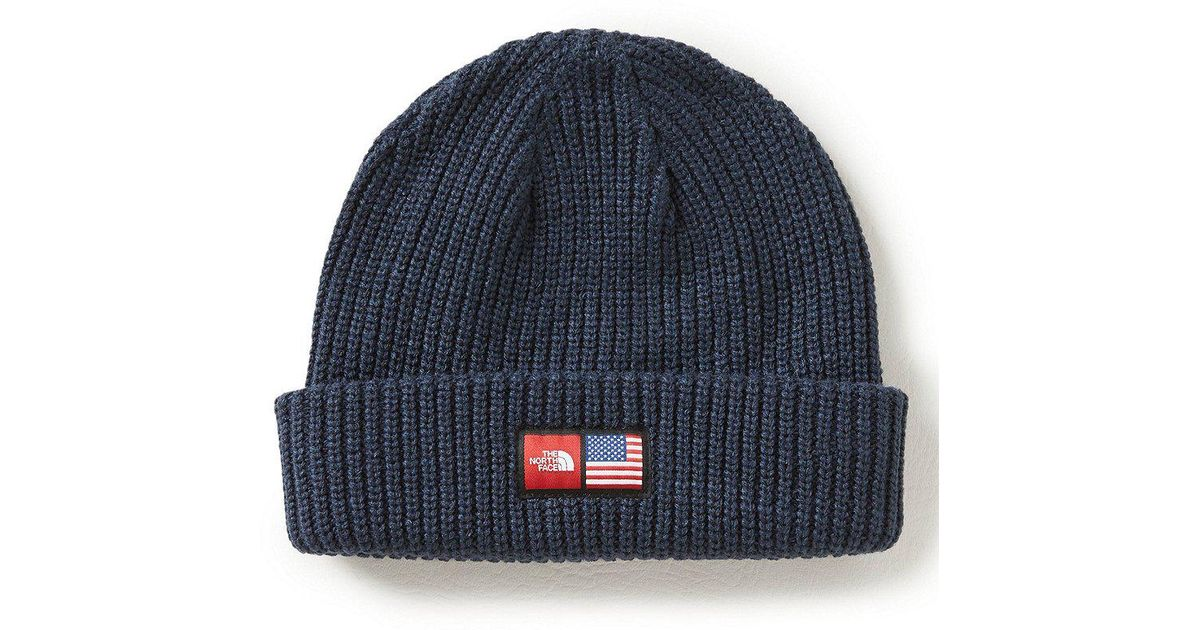 Lyst - The North Face 2018 Winter Olympics Men s Beanie in Gray for Men c33b5c6750a