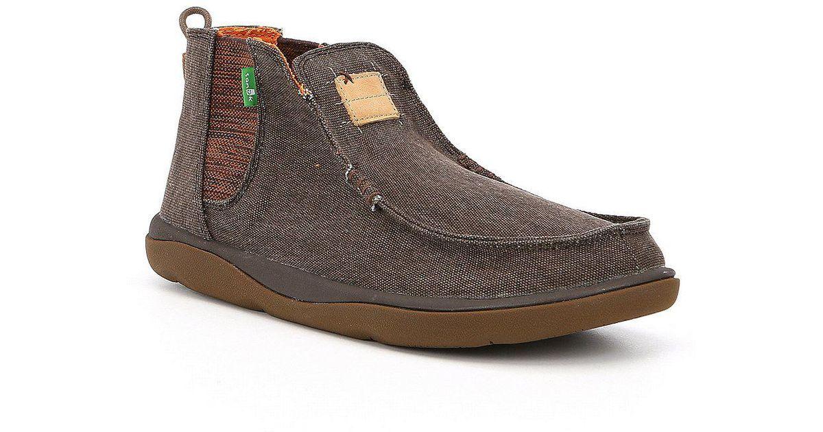 Sanuk Men s Chillsea Tripper Chukka Boots in Brown for Men - Lyst 0a34601ec567