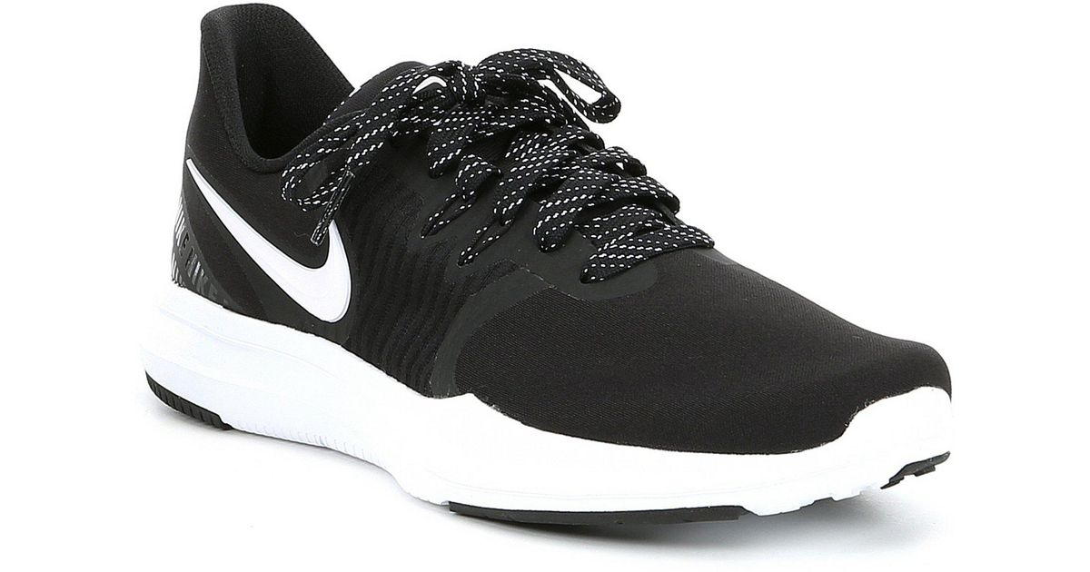 5ee06f92b Nike In-season Tr 8 Print (black/white) Cross Training Shoes in Black -  Save 27% - Lyst