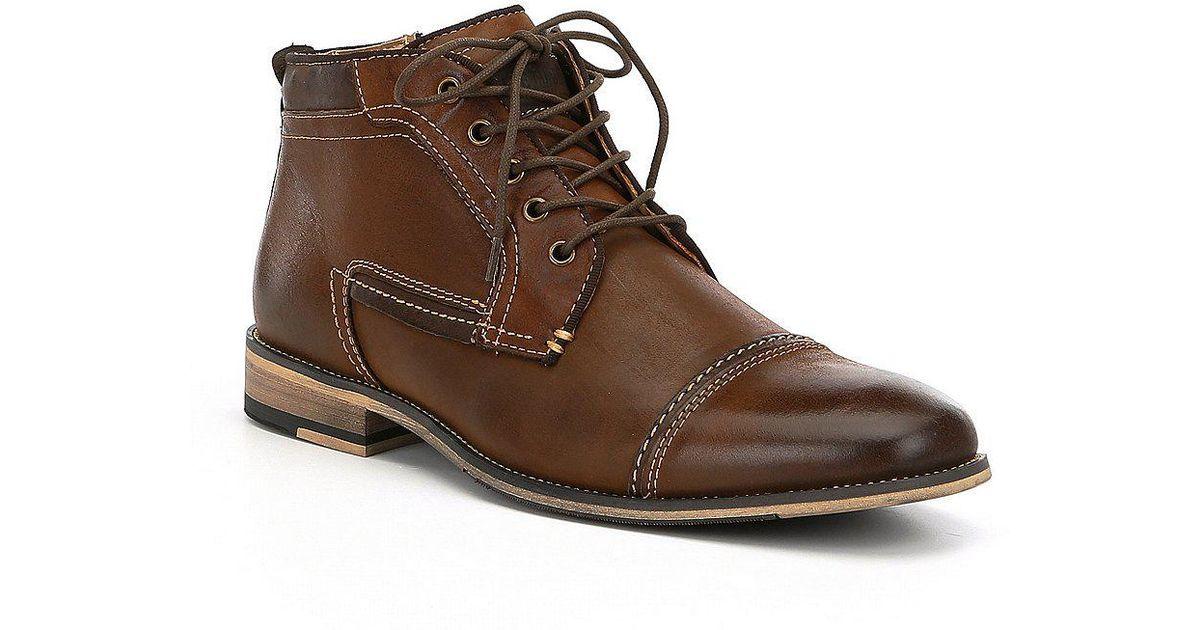 02bfa242017 Steve Madden Men s Joyce Boots in Brown for Men - Lyst