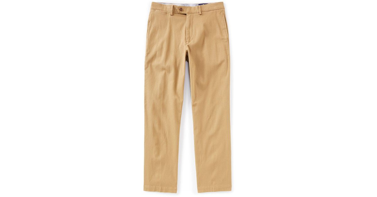Cremieux Men/'s Pants Big /& Tall Madison Flat-Front Twill Chino Pant in Khaki