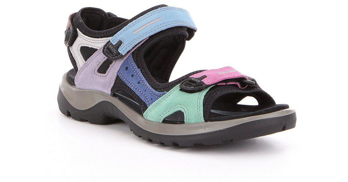 Women's Yucatan Offroad Multi Colored Banded Outdoor Sandals bYZLmiAlan