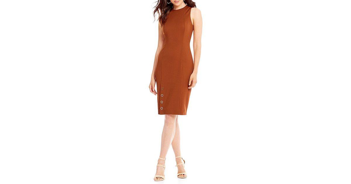 b9e077462ac Lyst - Antonio Melani Peggy Dress in Brown