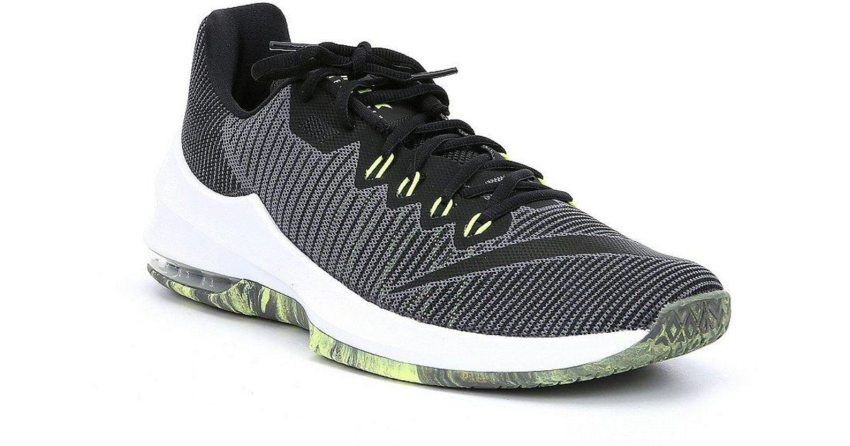 fbf2f92cb893e1 Lyst - Nike Men s Air Max Infuriate 2 Low Basketball Shoes in Gray for Men