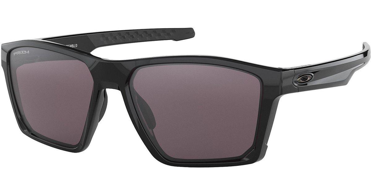 a44a8ef84c Lyst - Oakley Mens Target Line Black Lens Sunglasses in Black for Men
