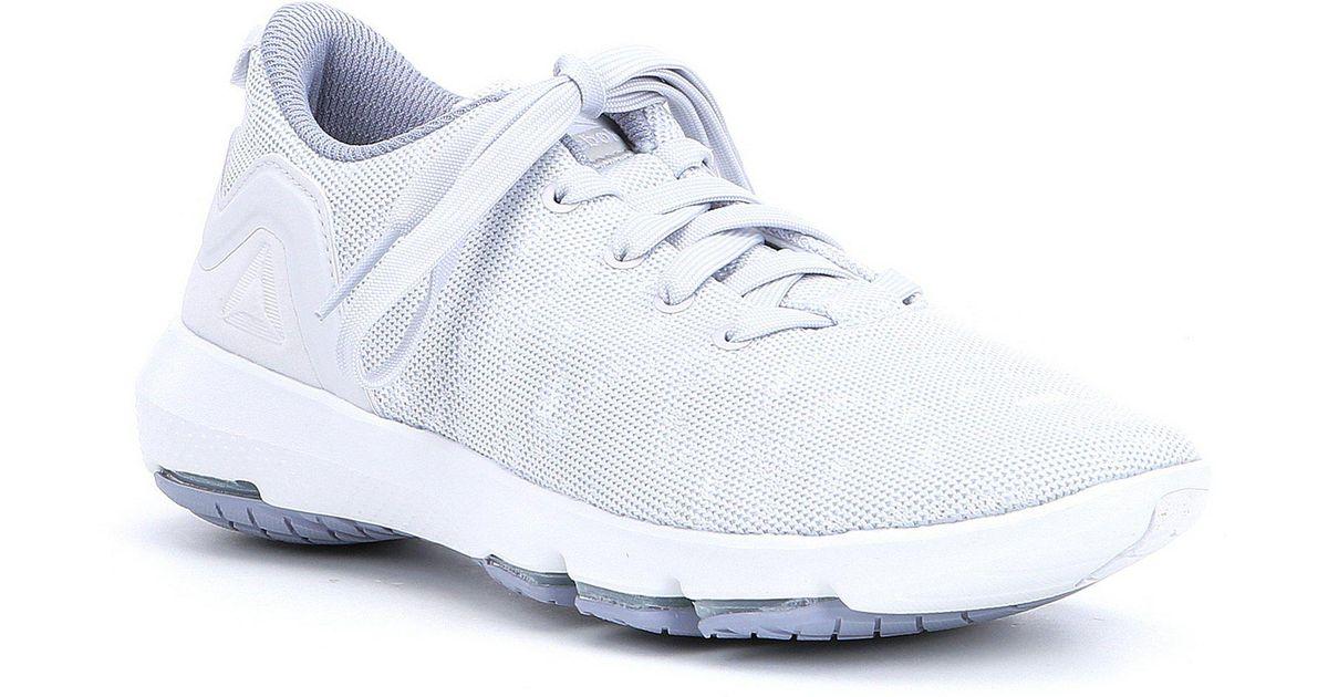 01f9ae2b249b49 Lyst - Reebok Women s Cloudride Dmx 3.0 Walking Shoes in White