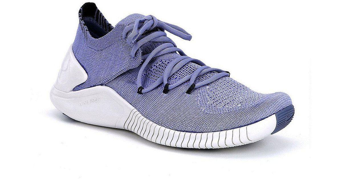5f86af88c572 ... where to buy lyst nike womens free tr flyknit 3 training shoes in black  for men ...