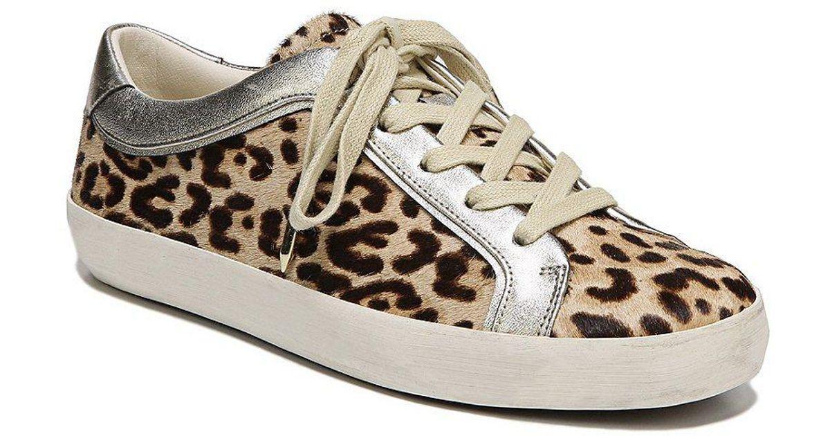 2dc6d0425005b Lyst - Sam Edelman Britton 2 Leopard Print Sneakers