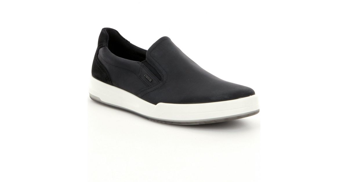 ba6675b6649 Lyst - Ecco Jack Men's Slip-on Shoes in Black for Men