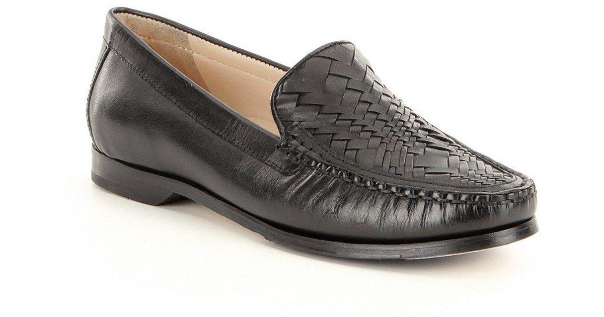 0da7b6f632f Lyst - Cole Haan Women ́s Pinch Genevieve Weave Loafers in Black