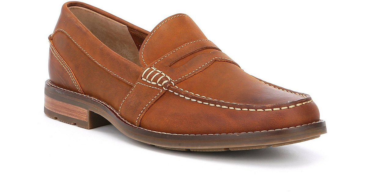 18815fa730f8 Lyst - Sperry Top-Sider Men s Essex Penny Loafers in Brown for Men