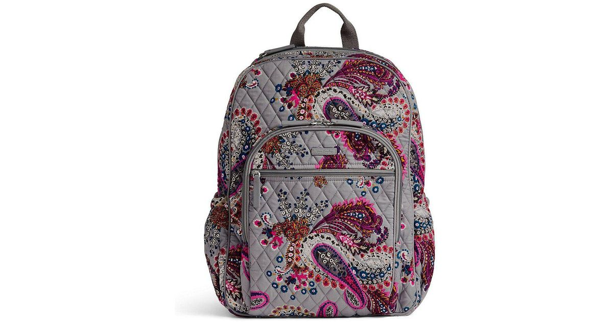 fa769f1fc8 Lyst - Vera Bradley Campus Tech Backpack
