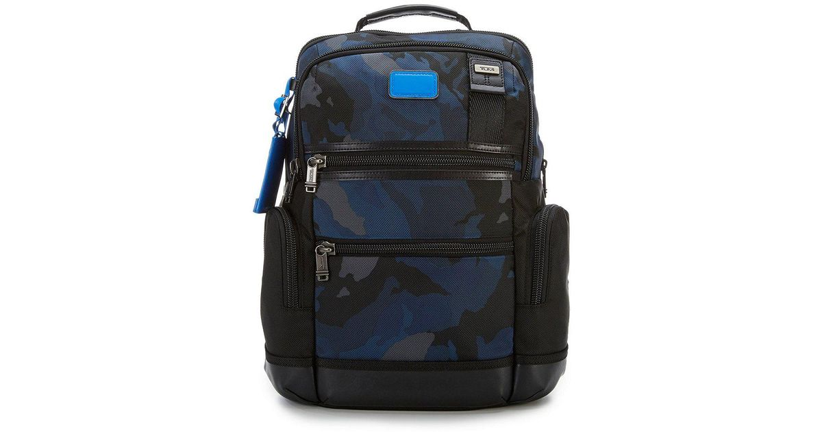83781b0c2 Tumi Knox Camouflage Backpack in Blue for Men - Lyst
