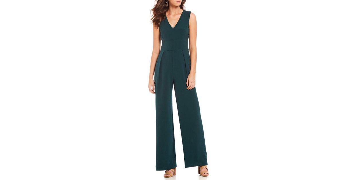 31306eef2953 Lyst - Sugarlips Wide Leg Jumpsuit in Green