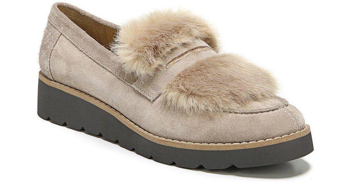 Franco Sarto Harriet Faux Fur Loafer vtdMhgagvC