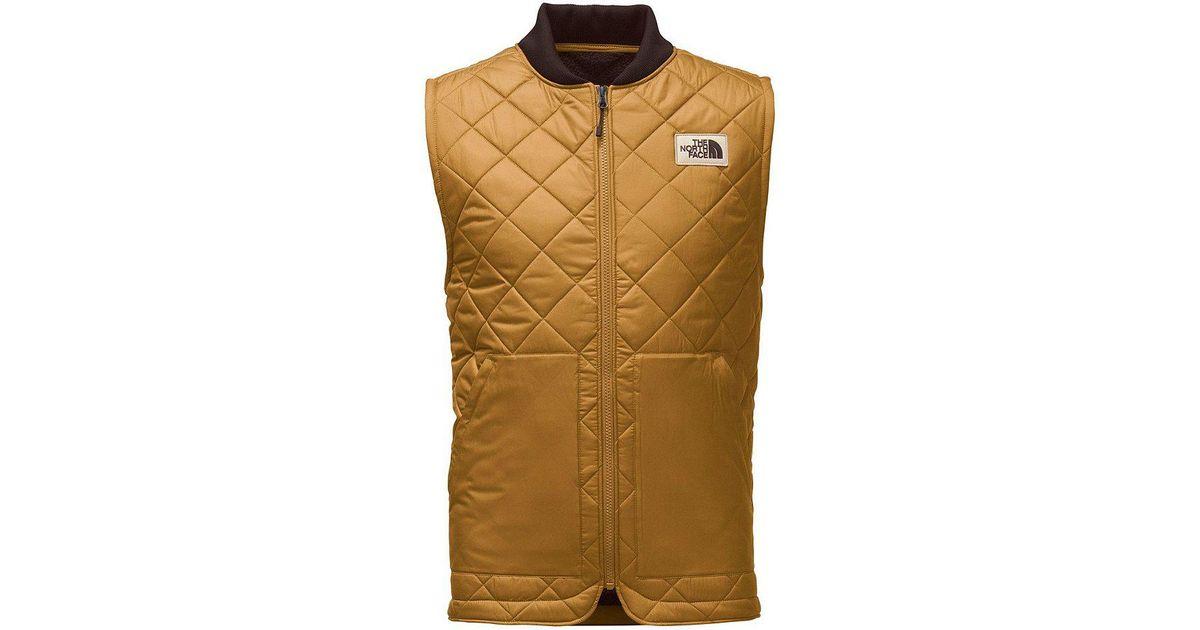 37c962e0165a Lyst - The North Face Cuchillo Insulated Vest in Green for Men