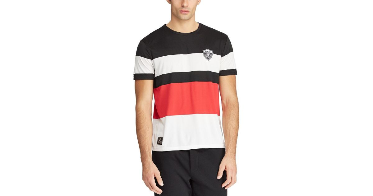 75811c08 Polo Ralph Lauren P-wing Active-fit Short-sleeve Performance Tee for Men -  Save 15% - Lyst