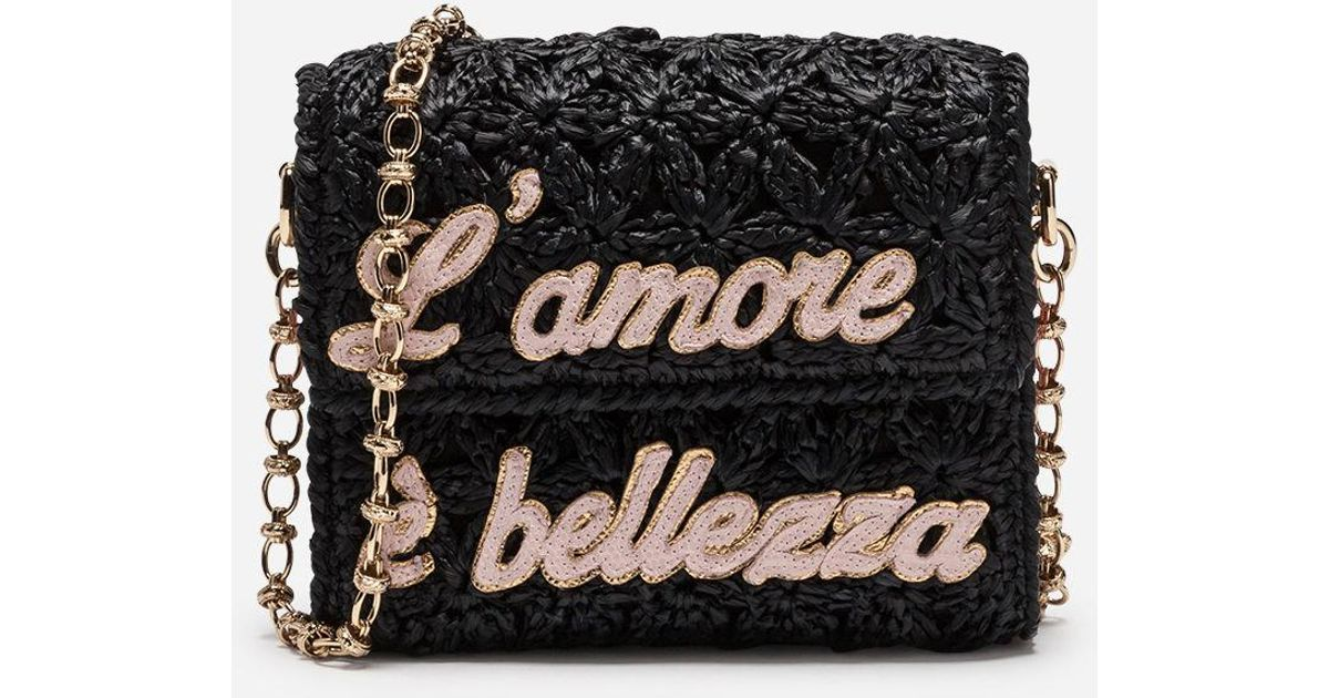 Dolce & Gabbana LAmore Milennials Crossbody Bag